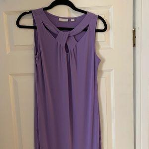 New York and Company Purple Spring Dress